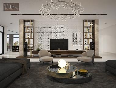 Thiết kế nội thất căn hộ Pent house - Sgv
