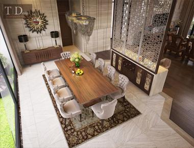Thiết kế nội thất biệt thự Gia Lai